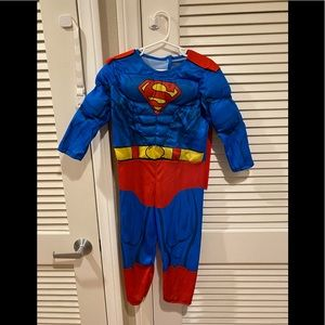 Superman costume for toddler 3T-4T